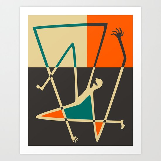 Tonic Clonic Art Print