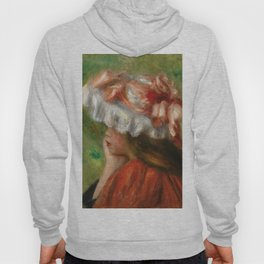"""Auguste Renoir """"Tête de jeune fille (Head of a young girl)"""" Hoody"""