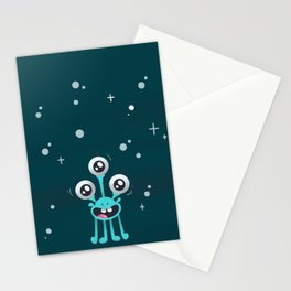 Outter Space Phone case Stationery Cards