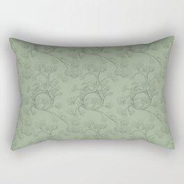 The Night Gardener - Endpapers Rectangular Pillow
