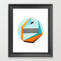 Stand Between and Listen Framed Art Print
