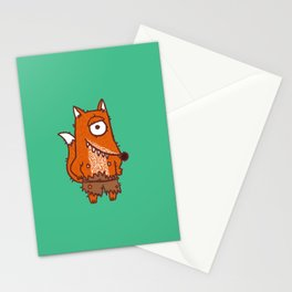 Cyclope Fox Stationery Cards