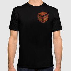 The Cube 5 MEDIUM Mens Fitted Tee Black