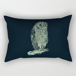 Tyto alba Rectangular Pillow