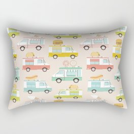 Food Trucks Rectangular Pillow
