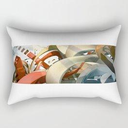 Form Exploration 2B Rectangular Pillow