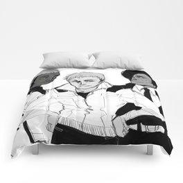 posthuman cheerleaders (felix, nolan & anaph) Comforters