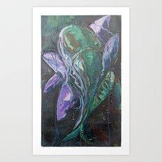 Pintado Flower Art Print