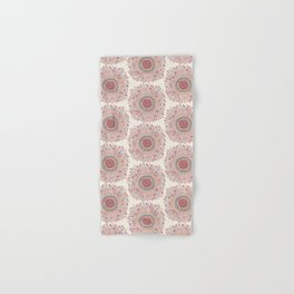 Sunflower Mandala Hand & Bath Towel