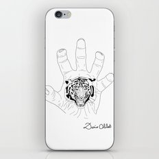 Wild hands iPhone & iPod Skin