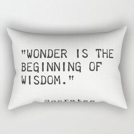 Socrates 6 Rectangular Pillow