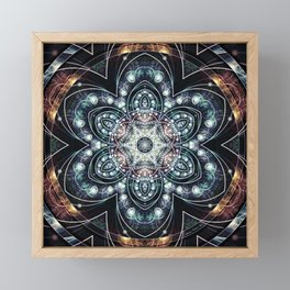 Mandalas from the Voice of Eternity 4 Framed Mini Art Print