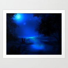 Moonscape Art Print