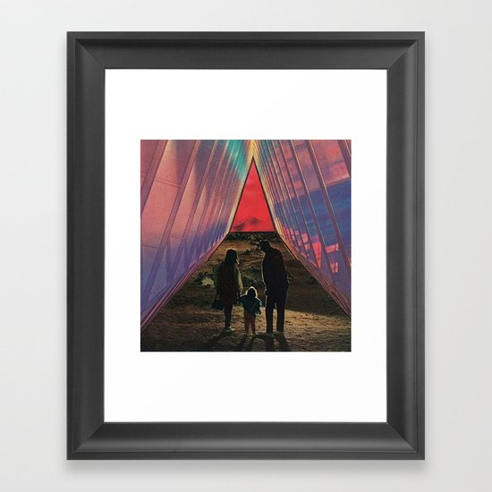 miracles and wonders Framed Art Print