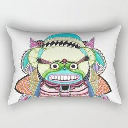 Crazy fun Rectangular Pillow