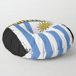 Montevideo Uruguay Gift Idea Floor Pillow
