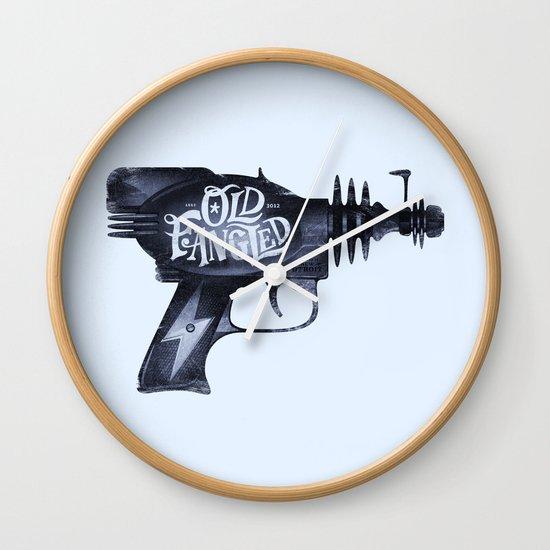 Old Fangled Wall Clock