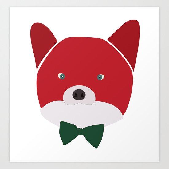 Fox Vermelha Art Print