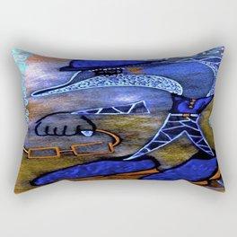 Dolphin Geek tetkaART Rectangular Pillow