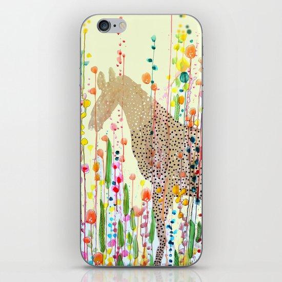 le bonheur est dans le pré iPhone & iPod Skin