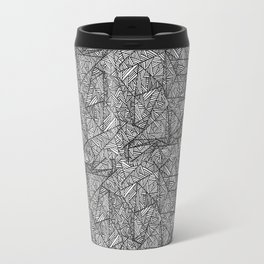 Pattern psychedelia Travel Mug