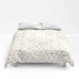 Modern Art Deco Geometric 1 Comforters