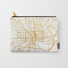 BALTIMORE MARYLAND CITY STREET MAP ART Carry-All Pouch