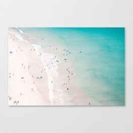 beach - summer love II Canvas Print