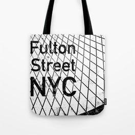 Fulton Street - New York City Tote Bag