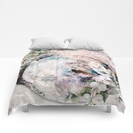 Strawberry Moon Comforters