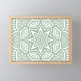 Mandala 23 Framed Mini Art Print