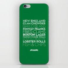 Boston — Delicious City Prints iPhone & iPod Skin