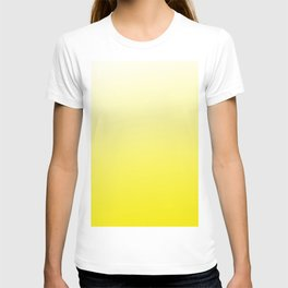 Simply sun yellow color gradient - Mix and Match with Simplicity of Life T-shirt