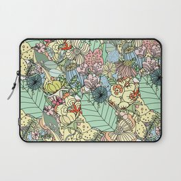 Muted In Bloom Laptop Sleeve