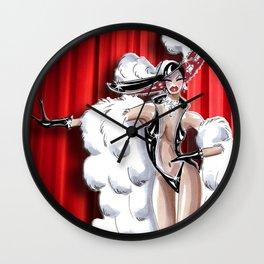 Giddy Up Showgirl Wall Clock