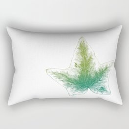 Ivy leaf - greens Rectangular Pillow