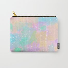 Colorful pastel pattern Carry-All Pouch