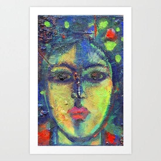 Face#3 Art Print