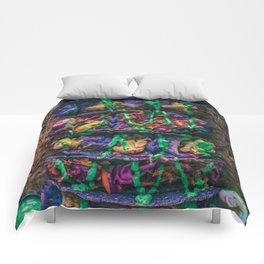Purple Cauliflower Tacos Comforters