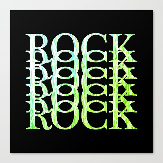 Rock #2 Canvas Print