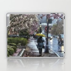 First Spring Rain.  Boston, MA Laptop & iPad Skin