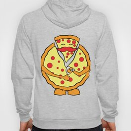 """""""Unzip the pizza"""" tee design. Perfect gift for Pizza lovers like you and your friends and family!  Hoody"""