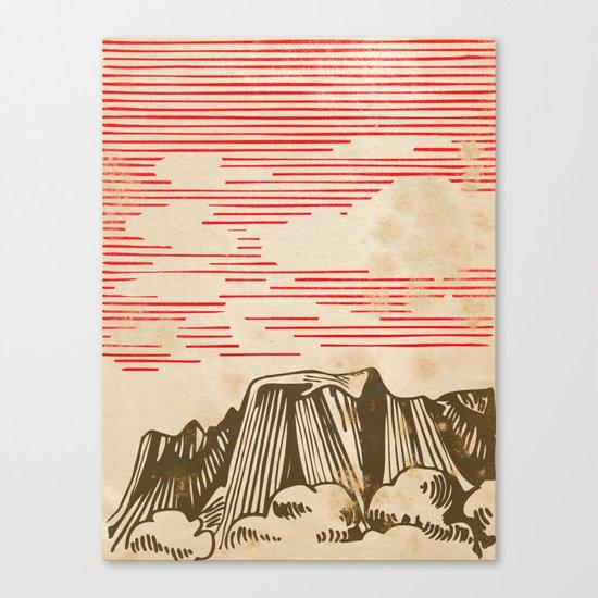 Carpathian mountains Canvas Print