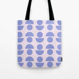 Shapes in Periwinkle Tote Bag