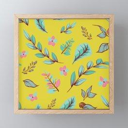 Flower Design Series 4 Framed Mini Art Print