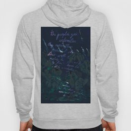 """""""Conquest of the Useless"""" by Werner Herzog Print (v. 11) Hoody"""