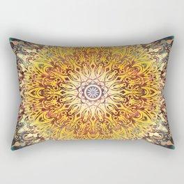 Cygnus Cosmic Mandala Rectangular Pillow