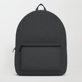 Dunn & Edwards 2019 Curated Colors Dark Engine (Dark Gray / Charcoal Gray) DE6350 Solid Color Backpack