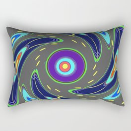 Stormy turbulence Rectangular Pillow