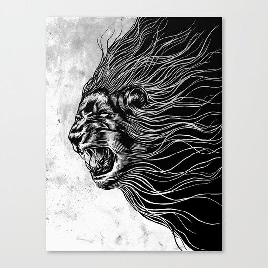Furious2 Canvas Print